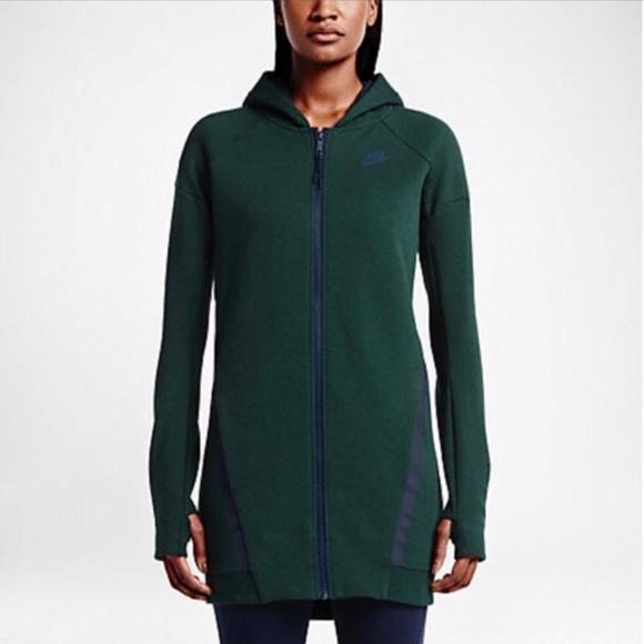 349f42fd6625 Nike Sportswear Tech Fleece Mesh Cocoon Hoodie